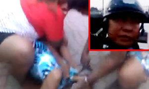 คลิปนี่หรือที่พึ่งประชาชน ตำรวจยิงพลาดโดนเด็ก