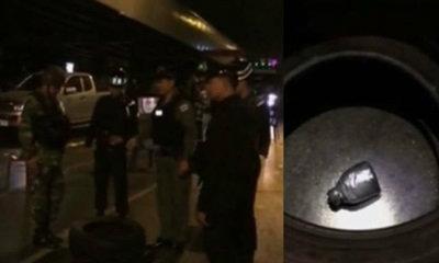 โยนบึ้มจากสะพานไทย-เบลเยียมตกใกล้แยกวิทยุ ตอนตี 4
