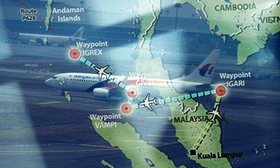 สื่อนอกตีแผ่! เรดาร์ไทยเจอ MH370 ลือ บินผ่านมัลดีฟส์