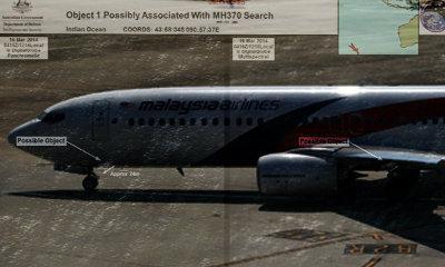 ไร้วี่แวว! ชิ้นส่วนปริศนาโยง MH370 ชายฝั่งออสเตรเลีย