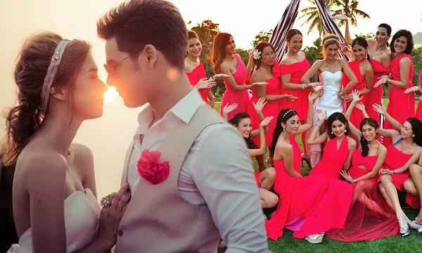 วะว้าว! เอมี่-ซี ปาร์ตี้ Pre Wedding ฉลองก่อนแต่งงาน