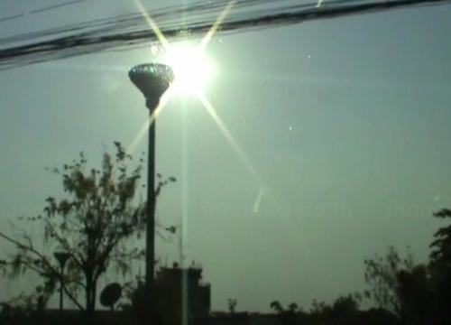 อุตุฯระบุอากาศเที่ยงวันทั่วไทยร้อนจัดสลับมีฝน