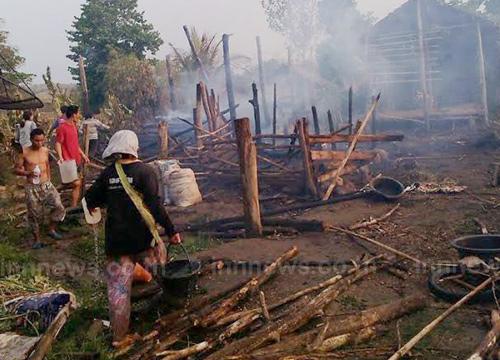 ผู้ว่าฯตาก สั่งช่วยเหลือชาวกะเหรี่ยง ถูกไฟไหม้บ้าน