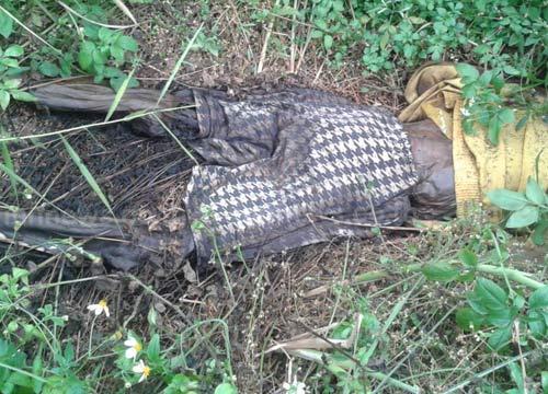 พบศพชายแห้งตายกลางป่าอ.แจ้ห่มลำปาง