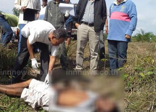 2ชายถูกยิงดับคาสวนปาล์มพัทลุงพบยาบ้าในตัว