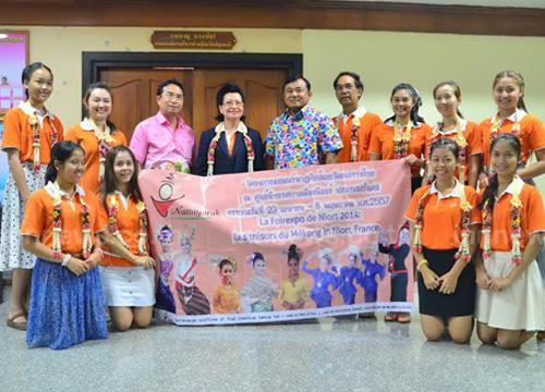 เด็กไทยเจ๋ง!ได้รับเชิญให้แสดงนาฏศิลป์ไทยที่ฝรั่งเศส