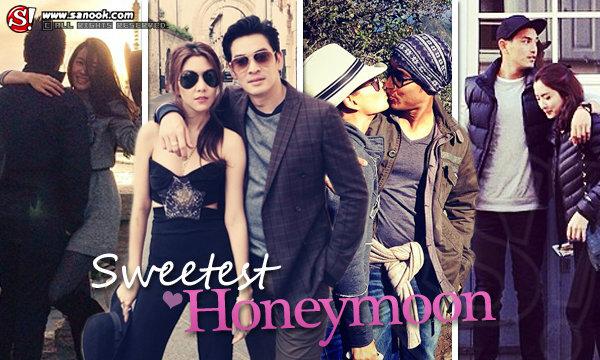 ย้อนดูฮันนีมูนคู่รักนักเที่ยว หวานฉ่ำท่องทั่วโลก
