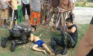 ชื่นชม! สุดยอดทหารใต้ ช่วยเด็กจมน้ำฟื้นคืนชีพ