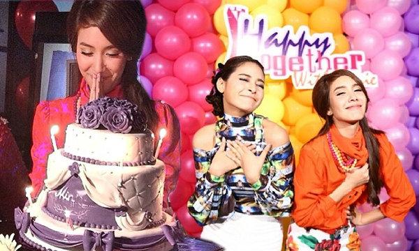 """ปาร์ตี้วันเกิด """"มีน พีชญา"""" สีสันจัดเต็ม!"""