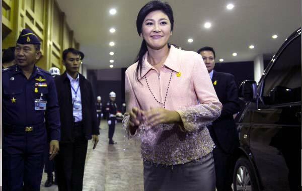 ยิ่งลักษณ์ ชินวัตร นายกรัฐมนตรีหญิงคนแรกของประเทศไทย