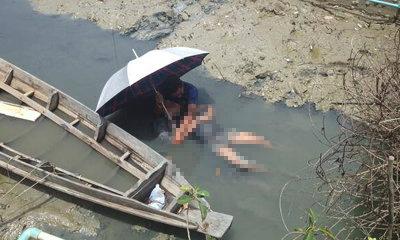 พ่อกอดศพร่ำไห้ ลูกสาววัย 17 ปี ถูกฆ่าหมกคูน้ำ