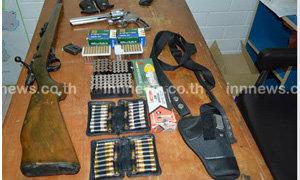 ทหาร-ตร.สระแก้ว สนธิกำลังจับอาวุธปืนจำนวนมาก