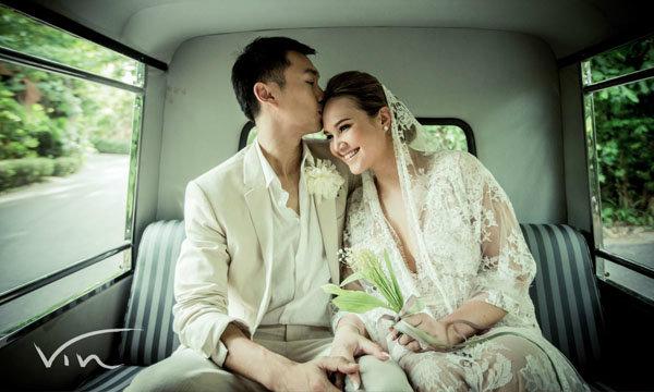 ภาพพรีเวดดิ้ง ทาทา ยัง แต่งงานพี่หมอ