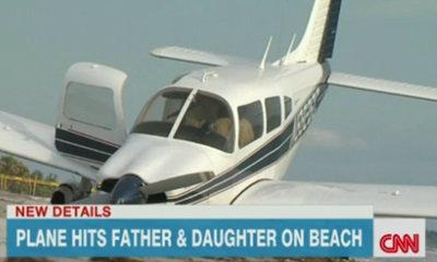 เครื่องบินพุ่งชน 2 พ่อลูก? ดับอนาถหาดฟลอริด้า