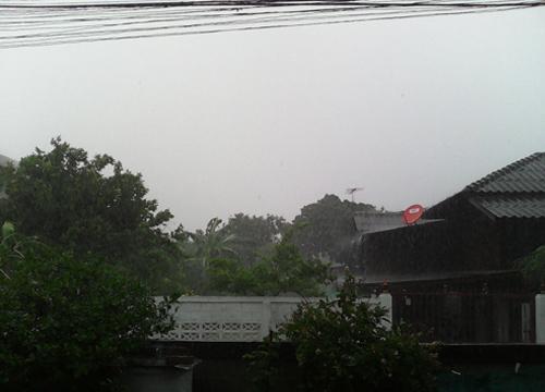 อุตุฯเตือนอีสานตะวันออกใต้ระวังฝนตกหนัก
