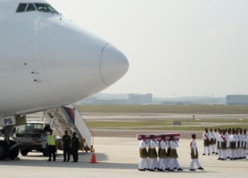 มาเลเซีย จัดพิธีศาสนารับร่างเหยื่อ MH17