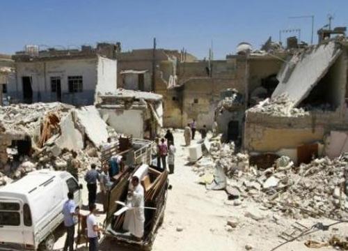 นักมนุษยชนเผยยอดเหยื่อสงครามซีเรียเกือบ2แสน