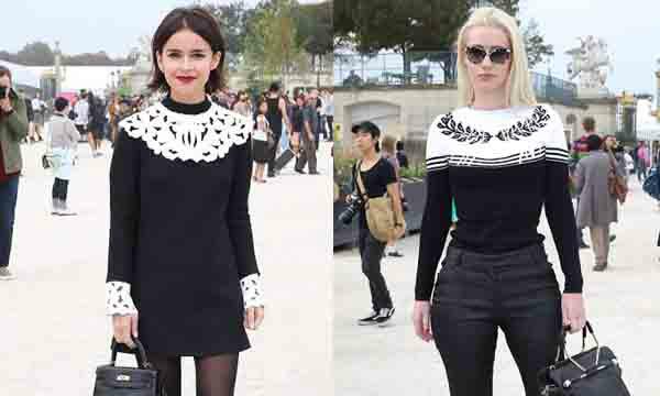 กระเป๋าสุดชิคของเหล่าคนดังในงาน Paris Fashion Week 2014