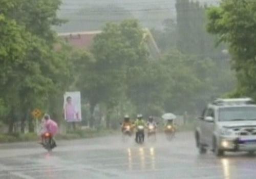 อุตุฯเตือนไทยตอนบนมีฝนตกกระจายตกหนักบางแห่ง