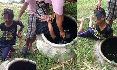 วิจารณ์หนัก! เจ้าของสวนจับเด็กเขมรกดน้ำ ฉุนลักมะพร้าว