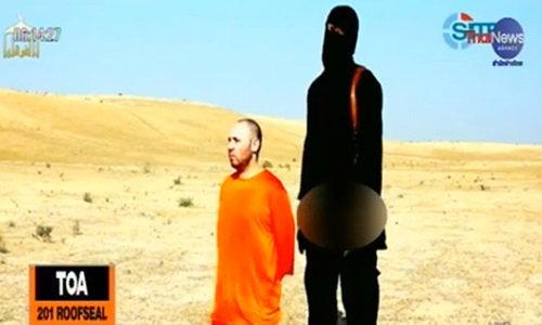 กลุ่มไอซิสในอิรักเผยแพร่วิดีโอ ฆ่าตัดคอนักข่าวอเมริกันรายที่ 2