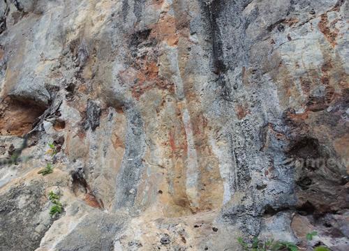 กระบี่พบภาพเขียนสีโบราณอายุหลายพันปี