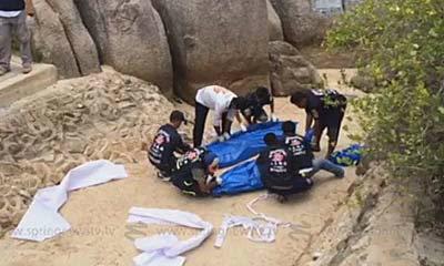 ผู้การสุราษฎร์ฯ พบเบาะแสฆาตกรฆ่าโหด 2 นักท่องเที่ยวบนเกาะเต่า