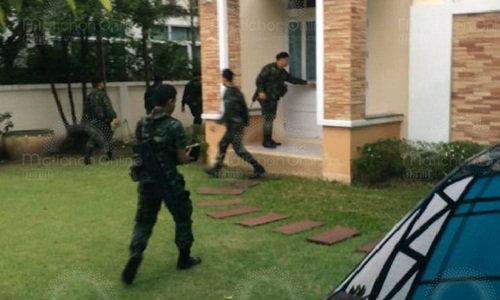 ′ตร.-ทหาร′ บุกตรวจค้นบ้านเครือข่ายยาเสพติด ซ้อหมิง อายัดทรัพย์กว่า 100 ล้าน