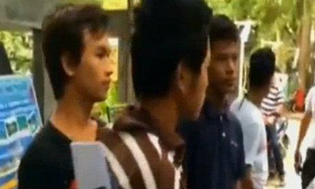 คุมตัวชาวพม่า ผู้ต้องสงสัยฆ่านักท่องเที่ยวเกาะเต่าสอบสวน