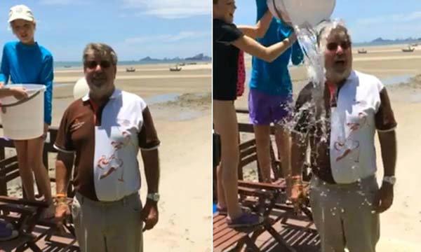 Sizzler Ice Bucket Challenge