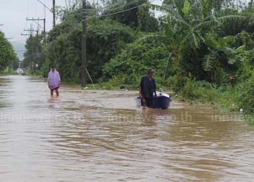 ปภ.สรุปยังมีน้ำท่วมจากฝนตกหนัก2จว.