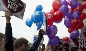 สกอตแลนด์หวังผลโหวต YES เตรียมแยกเอกราชจากอังกฤษ