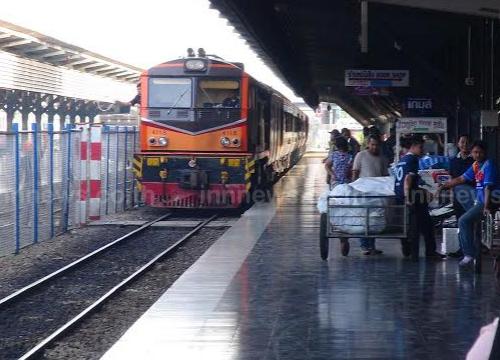 รถไฟชายแดนใต้เปิดเดินรถวันแรกแล้ว