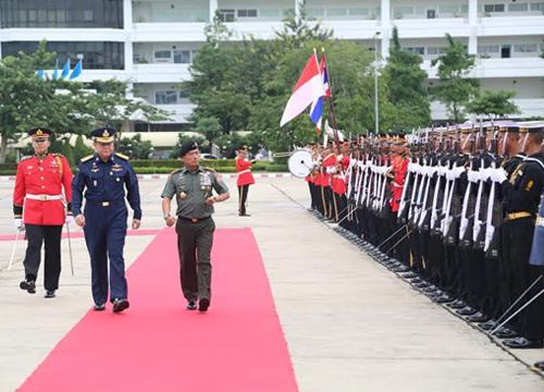 ธนะศักดิ์ต้อนรับผบ.สส.อินโดฯกระชับสัมพันธ์ทหาร