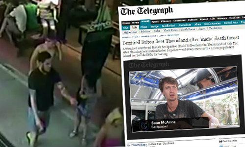 สื่ออังกฤษตีข่าว เพื่อนเหยื่ออ้าง ผู้มีอิทธิพลเอี่ยวฆ่าฝรั่งเกาะเต่า
