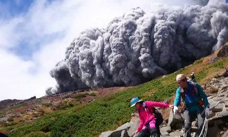 ภูเขาไฟปะทุ ทางตอนกลางญี่ปุ่น บาดเจ็บหลายราย