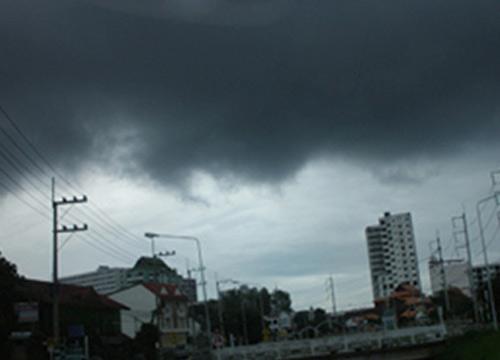 เรดาร์ตรวจพบกลุ่มฝนในเขต พท.ฝั่งธนบุรี