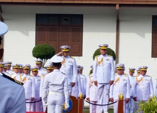 ผบ.ทร.ใหม่ยันพากองทัพเรือเป็น1ประชาคมอาเซียน
