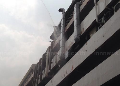 ตร.เผยคืบเหตุไฟไหม้ภายในตึกกรมโรงงานอุตสาหกรรม