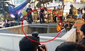 สยองแฟนคลับเกาหลีตกช่องระบายอากาศดับแล้ว 16 ศพ