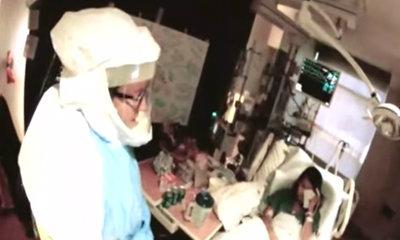 """เผยคลิปพยาบาลสาวมะกันติดอีโบลา พูดซึ้ง """"ฉันรักพวกเธอทุกคน"""""""