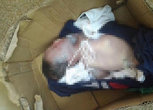 พบศพทารก 9ด. ถูกทิ้งในถังขยะหน้า กกท.