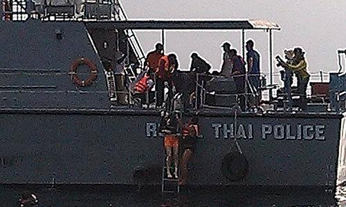 พบศพ 2 นักท่องเที่ยวเกาหลี เหยื่อเรือชนแล้ว