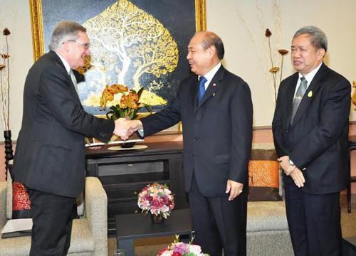 กกต.ต้อนรับทูตออสเตรเลียประจำประเทศไทย