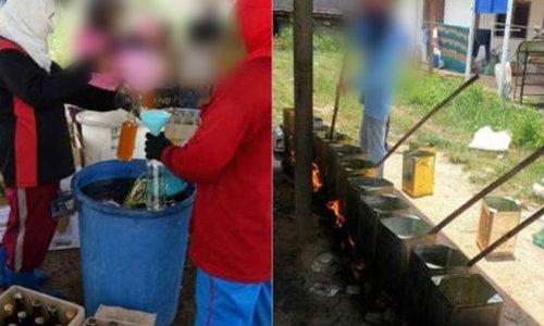แชร์เกลื่อน! โรงงานน้ำผึ้งปลอม จับกรอกสดๆ เร่ขายตามบ้าน