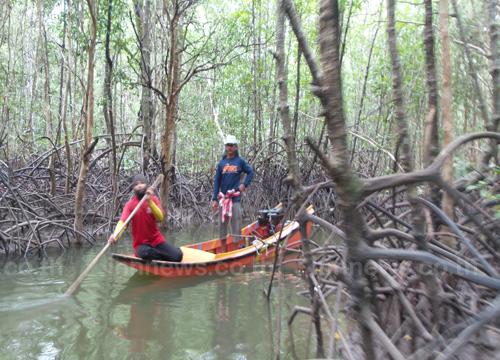 กระบี่ระดมกู้ภัยค้นหาชายหายปริศนาในป่าโกงกาง