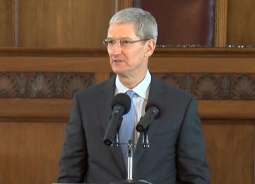 CEOแอปเปิ้ลประกาศตัวครั้งแรกรับเป็นเกย์บอกภูมิใจ