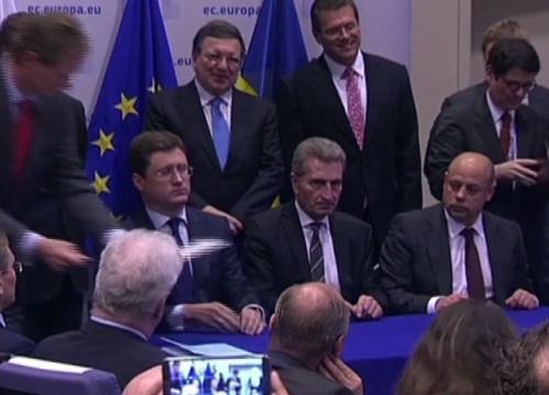 EUหวังรัสเซีย-ยูเครนคืนดีหลังตกลงซื้อขายพลังงาน