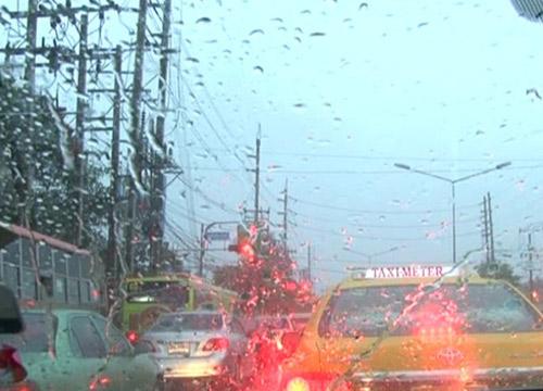 ฝนถล่มกทม.สูงสุดที่เขตคลองสามวา47.5มม.