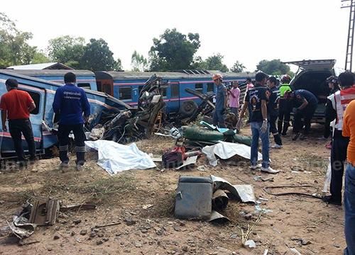 ปภ.เผยอุบัติเหตุจุดตัดรถไฟ216ครั้งตายไป33ราย